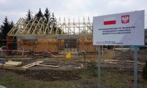 Coraz bliżej końca budowy świetlicy w Ogorzelcu