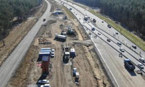 Budowa drogi ekspresowej S3 pod Lubinem (ZDJĘCIA)