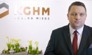 Życzenia świąteczne prezesa KGHM dla załogi i mieszkańców regionu