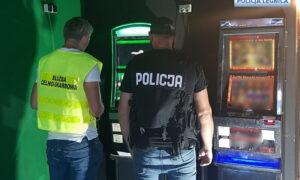 Nielegalne automaty do gry zabezpieczone przez policję